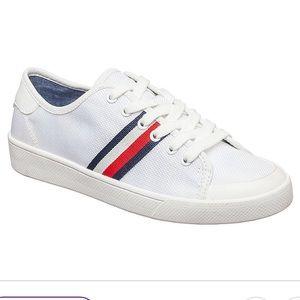 Tommy Hilfiger Women's Sneakers White / logo Sz 8